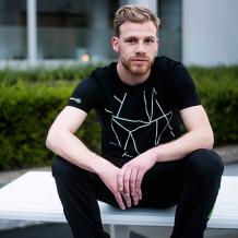 T-shirt Heren PXL Lijnen